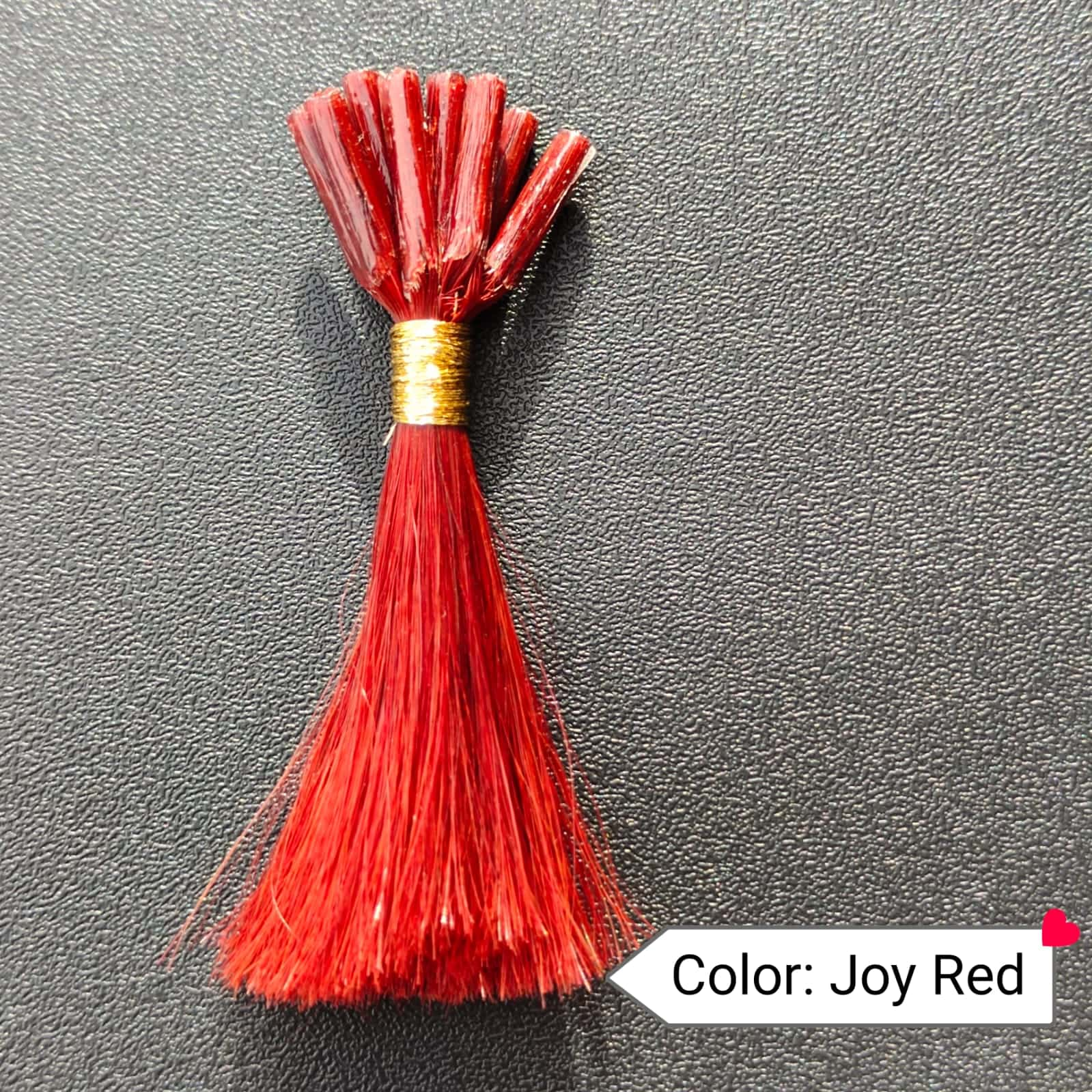 Color Joy Red Human Hair Extensions
