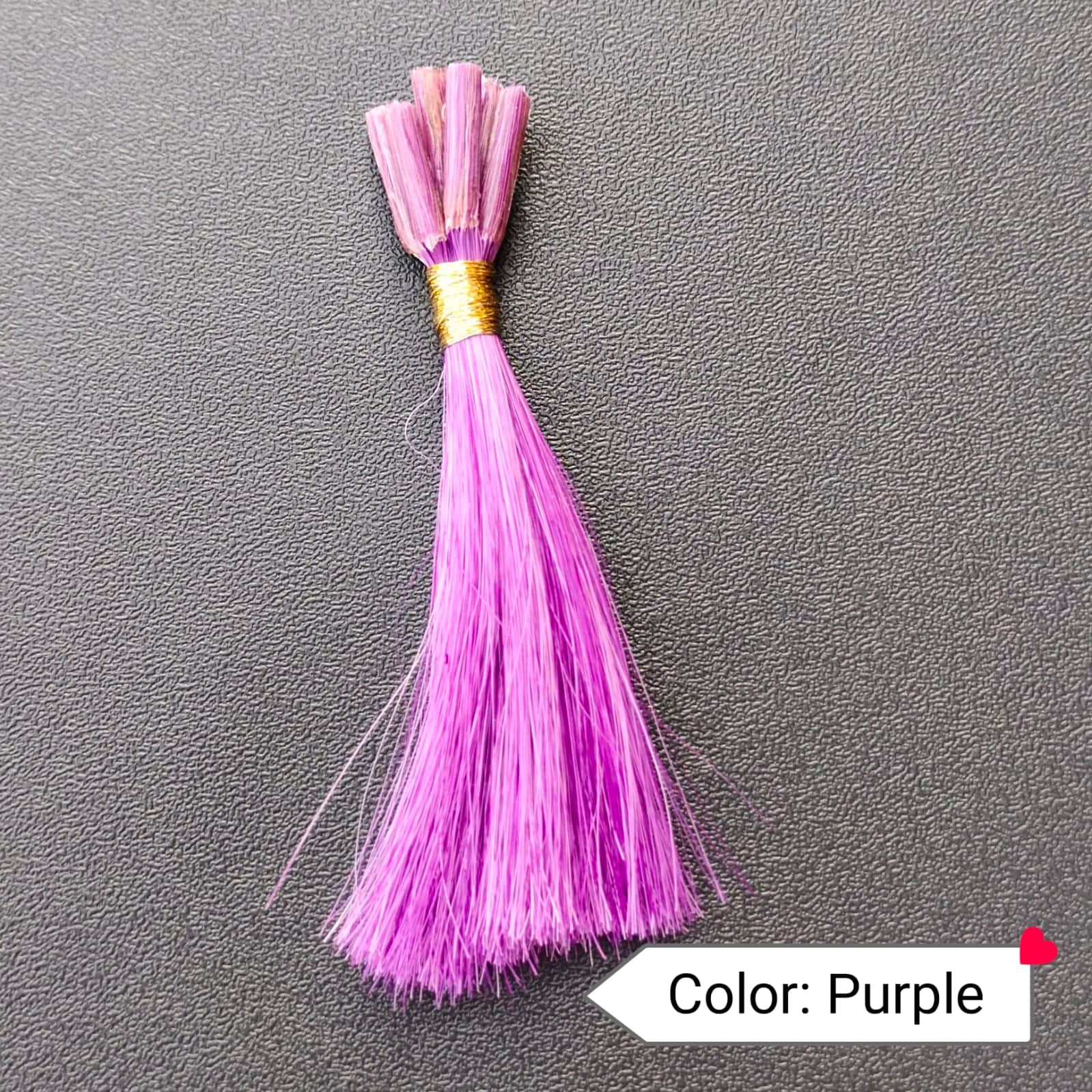 Color Purple Human Hair Extensions