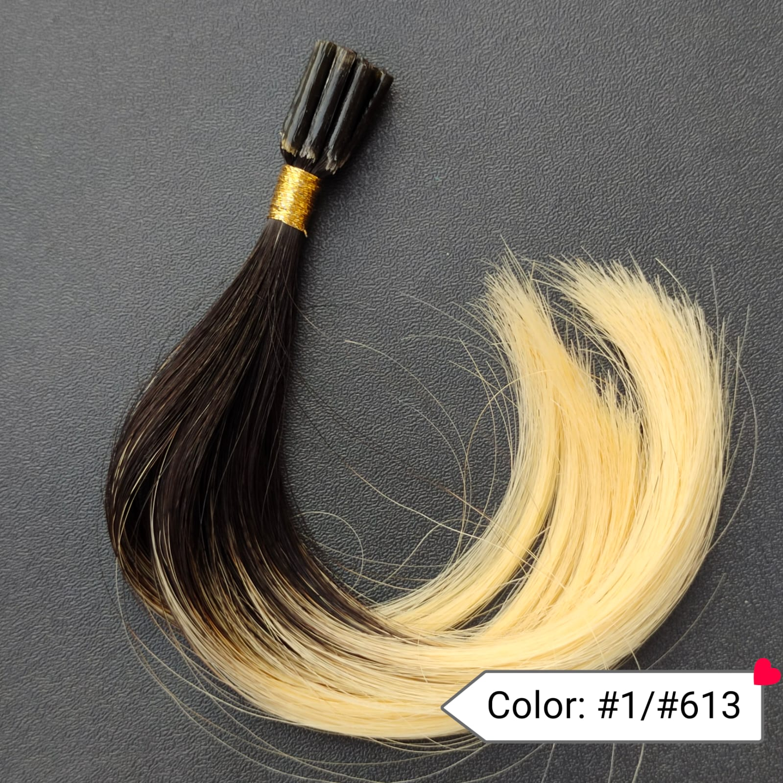 Color no. 1 by 613 Human Hair Extensions