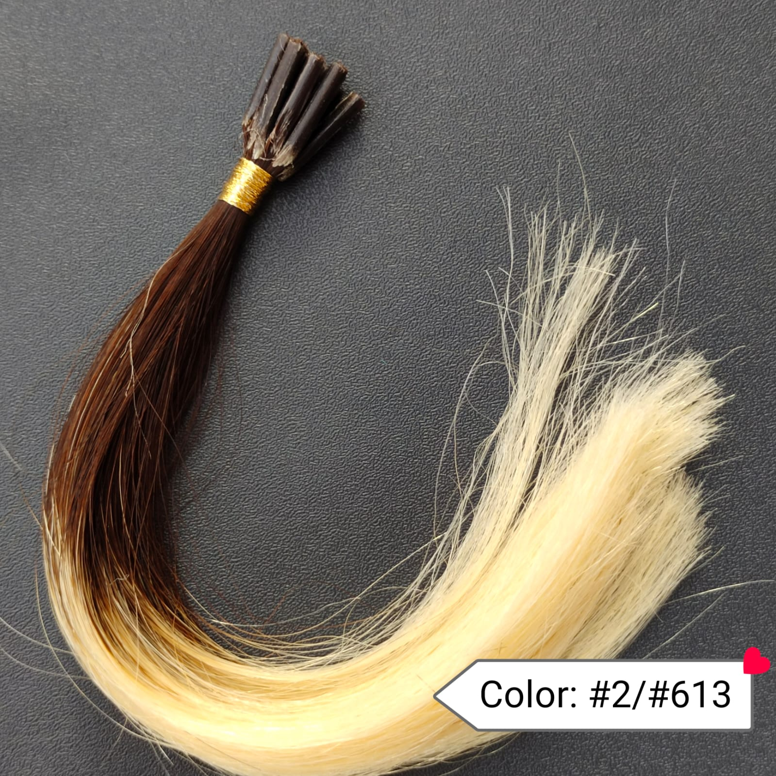 Color no. 2 by 613 Human Hair Extensions