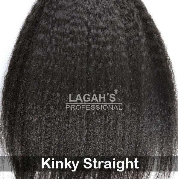 Kinky Straight Human Hair Texture