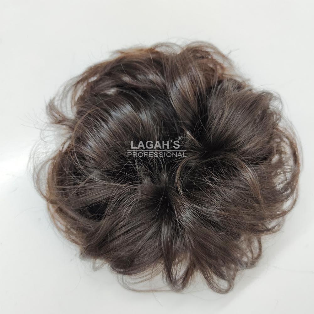 Messy Bun of human hair