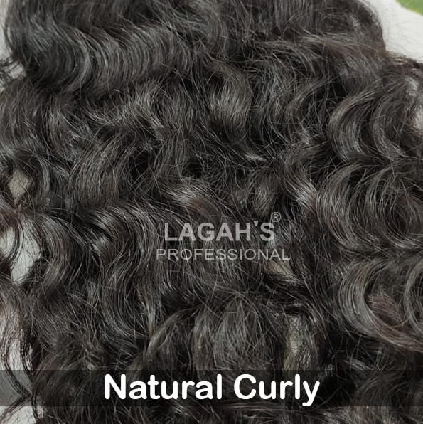 Natural Curly Human Hair Texture