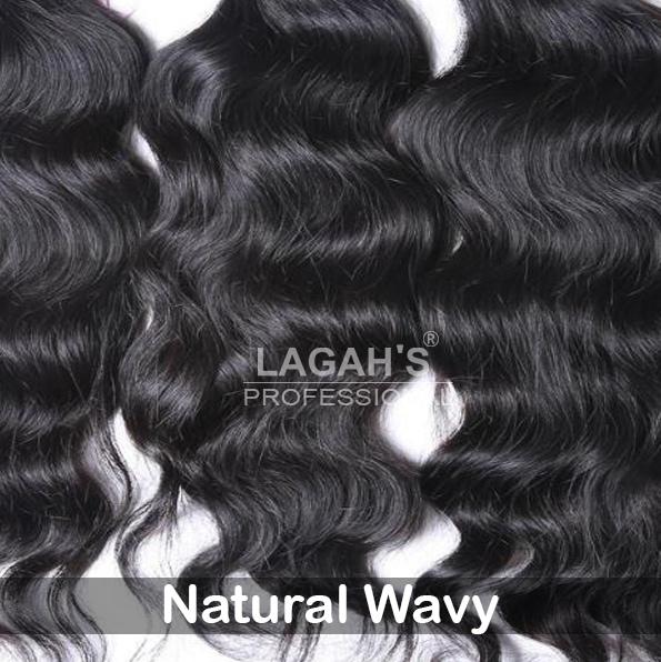 Natural Wavy Human Hair Texture