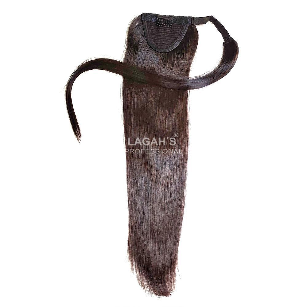 Wrap around ponytail hair extensions