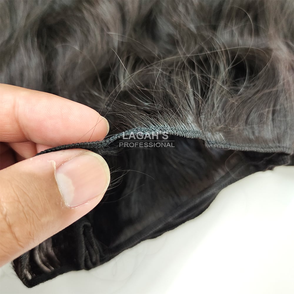 Single Machine Weft Human Hair Extensions