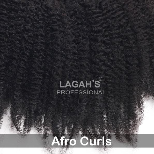 Afro Curls Human Hair Texture