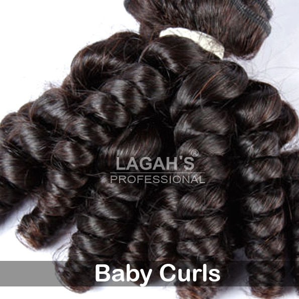 Baby Curly Human Hair Texture